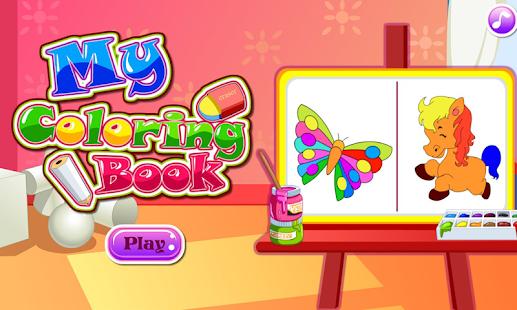 my coloring book screenshot thumbnail - Colouring Book Games
