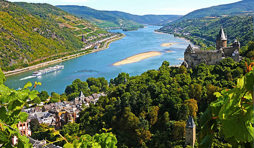 Avalon Visionary cruising the Rhine River.