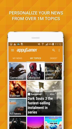 Appy Gamer – Games news screenshot 1
