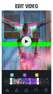 Glitch Photo Editor & Glitch Video Effect Screenshot