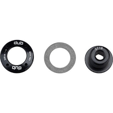 SRAM Truvativ DUB M18 Crank Bolt and M30 Self-Extracting Cap, Black
