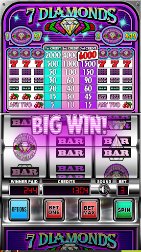Seven Diamonds Deluxe : Vegas Slot Machines Games 3.1.2 screenshots 1