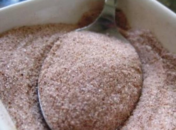 Sprinkle with sugar and cinnamon mixture to taste and serve
