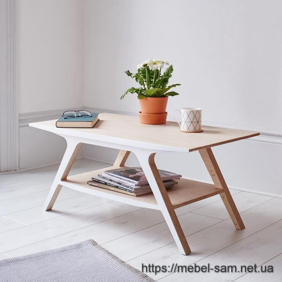 кофейный/журнальный столик из фанеры