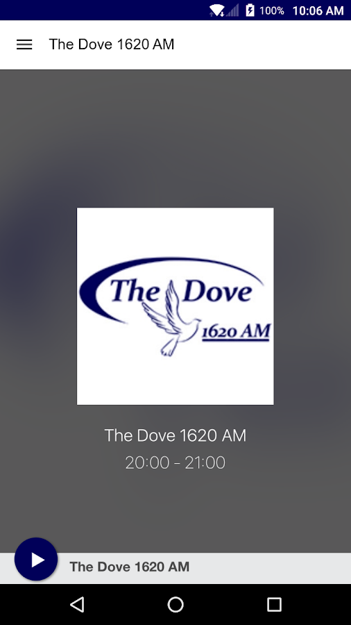The Dove 1620 AM- screenshot