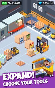 Idle Courier Tycoon Mod Apk (Unlimited Money) 1.5.2 4
