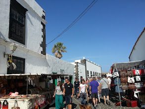 Photo: weekly market, teguise