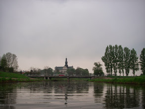 Photo: Koniecpol wita mnie deszczykiem