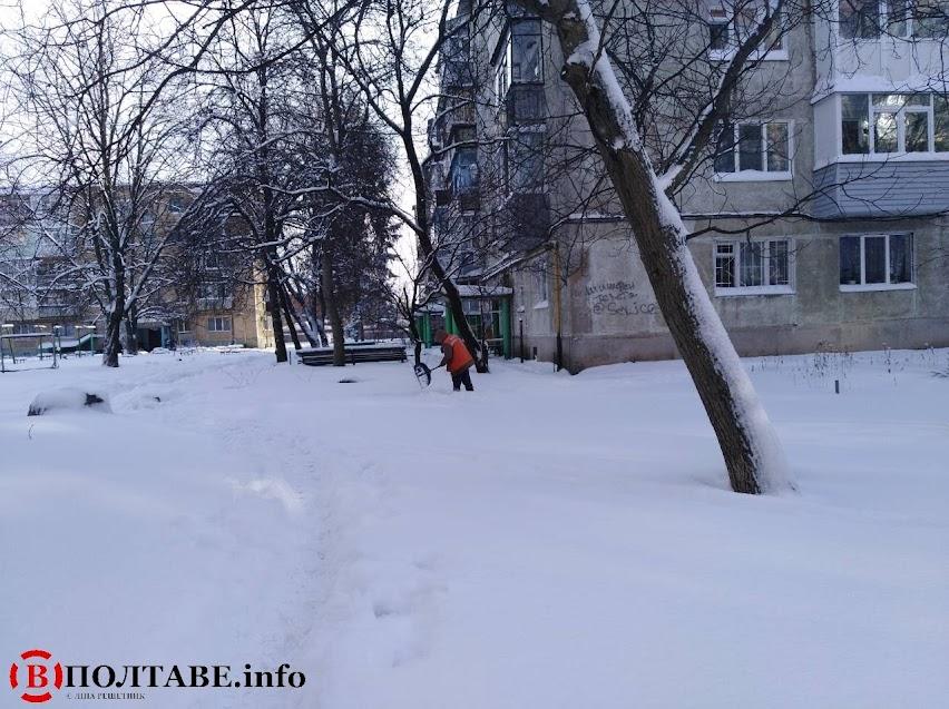 Полтаву вхурделило: ранок у місті після сильної негоди (ФОТО, ВІДЕО), фото-12