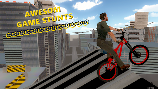 BMX RoofTop Bicycle Tricks 1.4 Mod screenshots 2