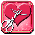 Hairstyle & Cute Heart Editor icon