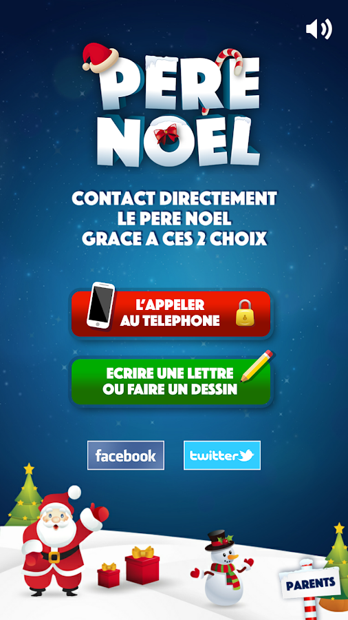 pere noel screenshot