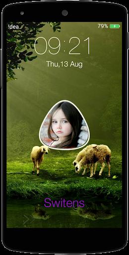 My Photo Name Lock Screen