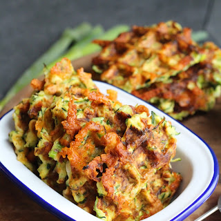 Courgette Waffles Recipe