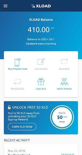 XLOAD - Free Universal Prepaid Top-Up Everyday 1.0.69 screenshots 2