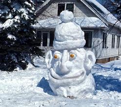Photo: Snow Man 1974