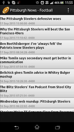 Pittsburgh News - Football