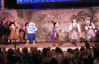 Photo: Pirate Day Party on the deck of the Disney Dream