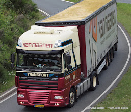 Photo: Great DAF from VAN MAANEN      -----> just take a look and enjoy www.truck-pics.eu