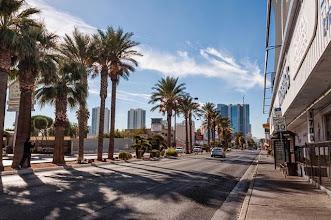 Photo: Leaving town, Las Vegas