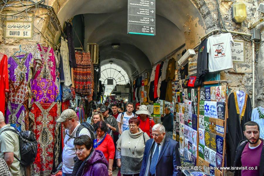 Христианский квартал. Экскурсия в Иерусалиме с гидом Светланой Фиалковой