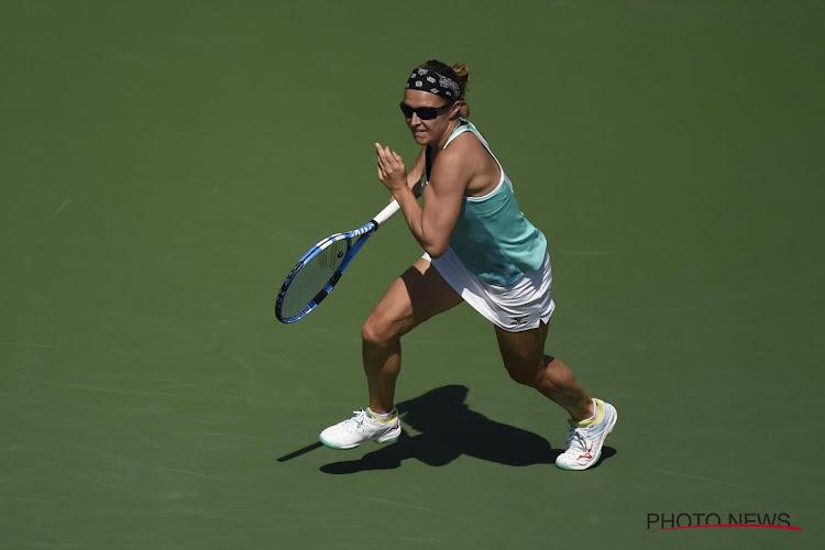 Ook Kirsten Flipkens is er niet in geslaagd om de eerste ronde in Palermo te overleven