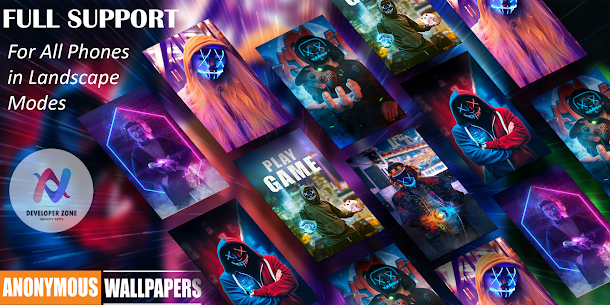 😈Anonymous Wallpapers HD😈 Hackers Wallpapers 4K Apk Download For Android 9