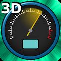 3D Speedometer Live Wallpaper icon