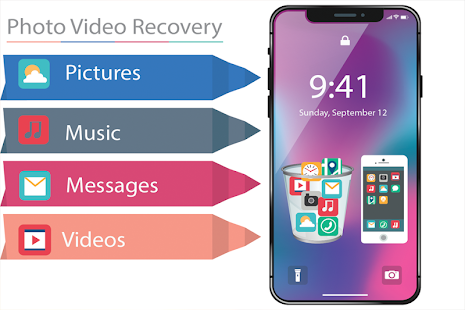 Recover Deleted Files Photos & Videos - náhled