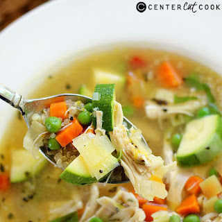 Chicken and Quinoa Soup.