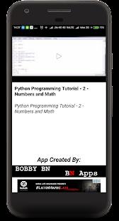 Python Programming Tutorial - náhled