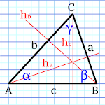 Triangle Solver Icon