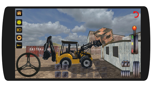 Excavator Loader Realistic Simulation screenshots 3