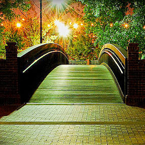 Bridge To Dreams by Bob Beason - Landscapes Starscapes