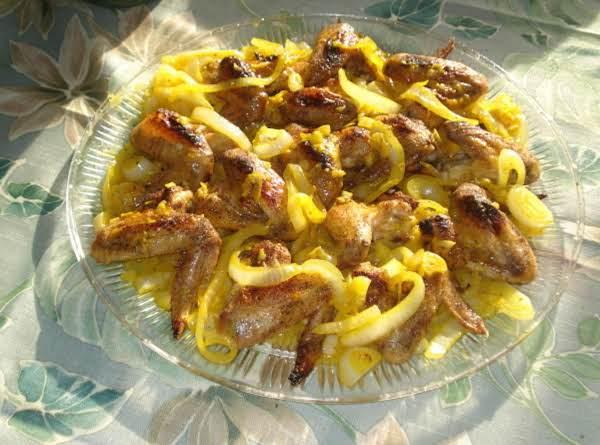 Garlic Mojito Chicken Wings/alas De Pollo Al Ajio