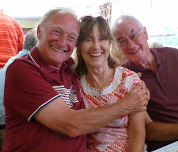 Photo: Only 18 days to go for Len & Jean. How did that fellow intrude?