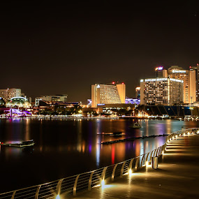 night... by Happy Sugianto - City,  Street & Park  Vistas