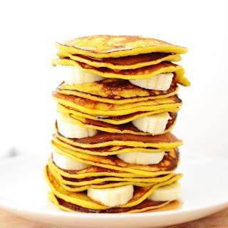 Banana And Turmeric Pancakes