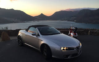 Alfa Romeo Spider Rent Western Cape