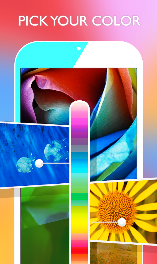 Screenshots of Wallpapers HD for iPhone