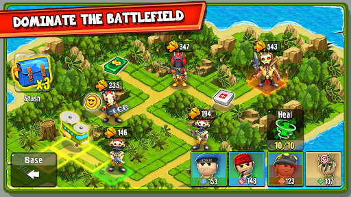 The Troopers: minions in arms screenshot 3