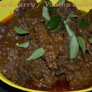 Duck curry / Vaathu kulambu