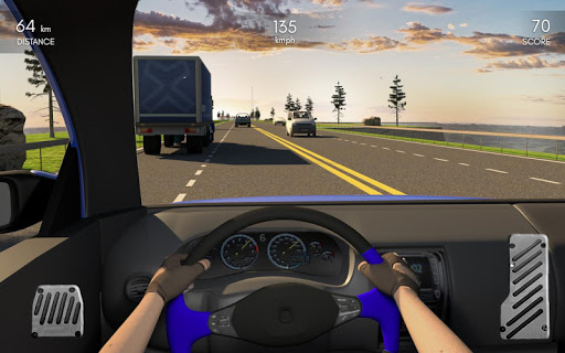 Racing In Car 3D  screenshots 10