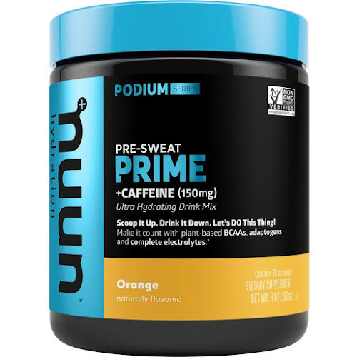 Nuun Prime Hydration Drink Mix: Orange + Caffeine, 20 Serving Canister