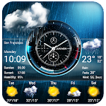 Weather Widget on Home Screen Icon