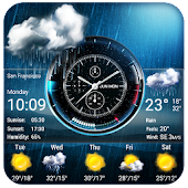 Weather Widget on Home Screen