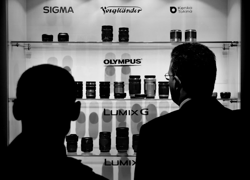 Photo: The Lumix booth