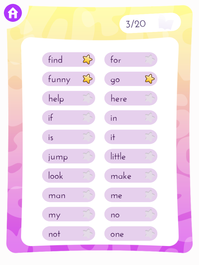 Sight Word Games- screenshot