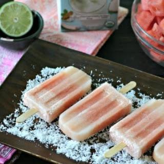 Otai Coconut Watermelon Popsicles