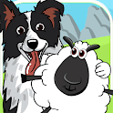 CollieRun - Free Dog game agility training border icon